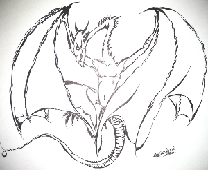 Occidentale dragon